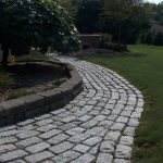 Landscape products for walls, walkways and patio's